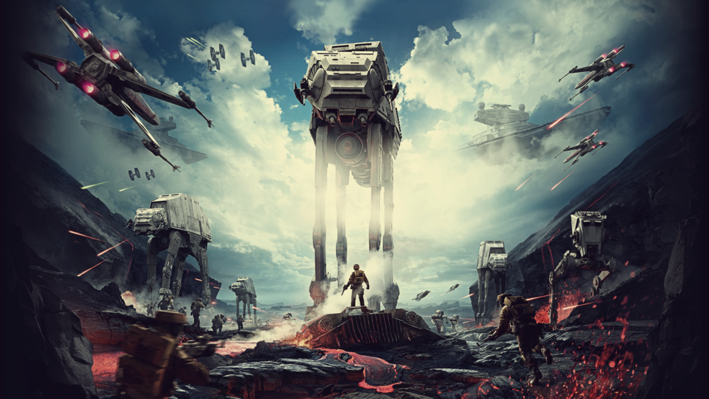 Free Wallpaper Desktop Wallpaper Star Wars Battlefront Wallpaper 1920x1080 By D Starwarswallp Star Wars Wallpaper Ultimate Star Wars Star Wars Canon