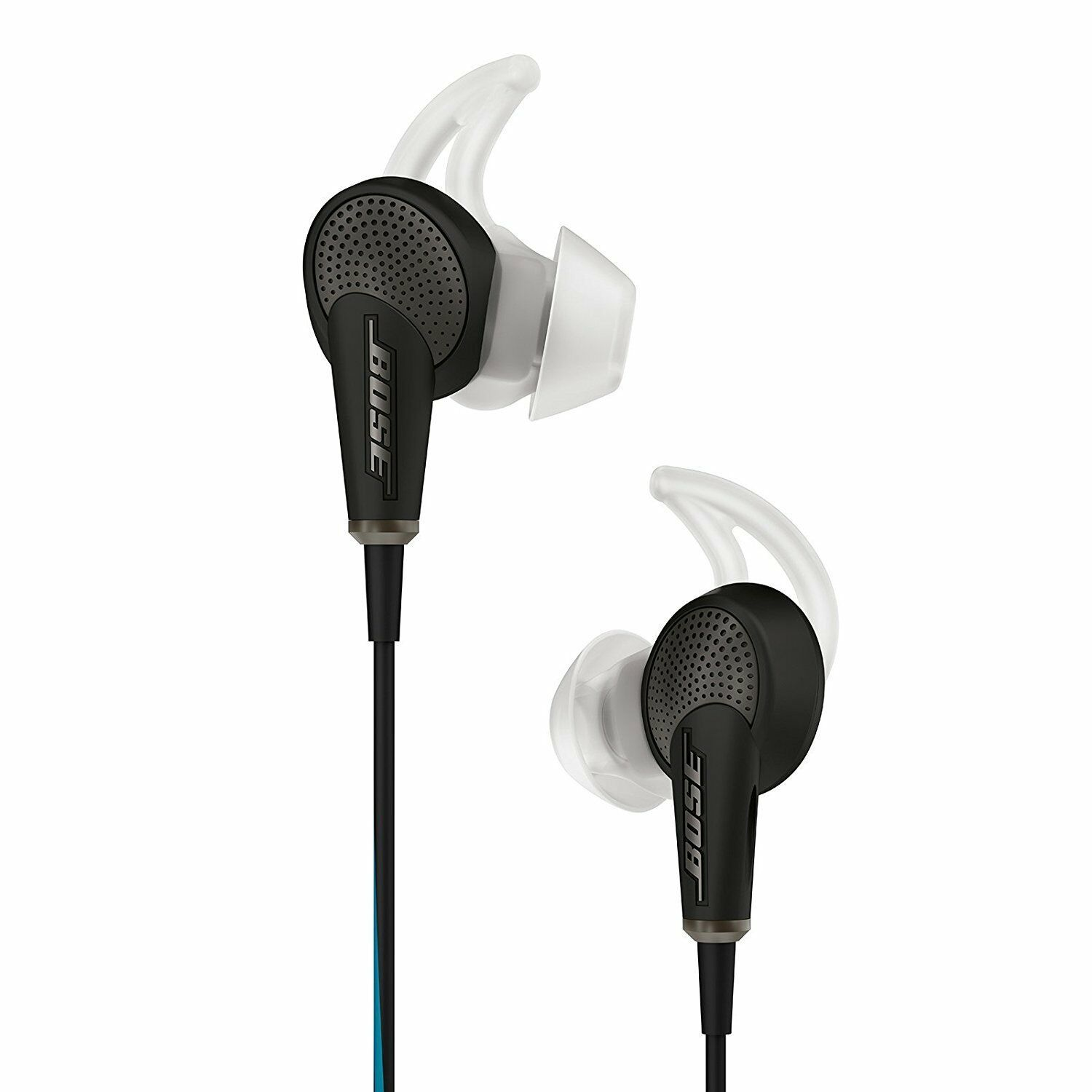 Bose Quietcomfort 20 Noise Cancelling In Ear Headphones Factory Renewed In 2020 Best Noise Cancelling Earbuds Bose Headphones Noise Cancelling Earbuds