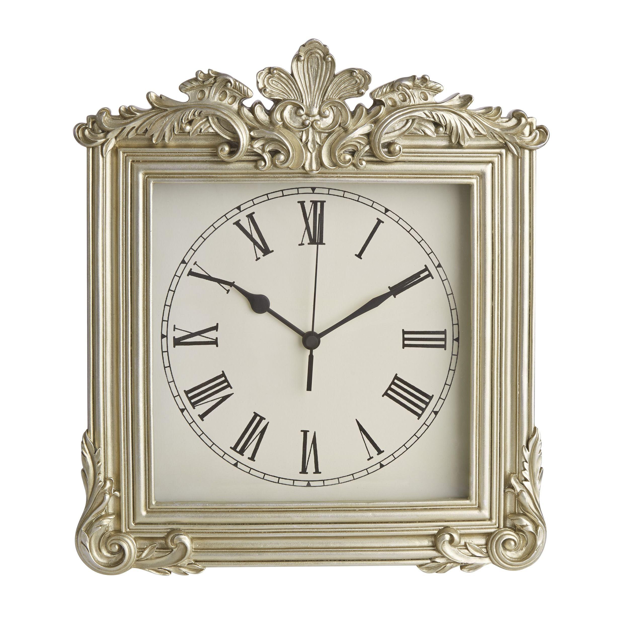 Patricia Champagne Wall Clock At Laura Ashley