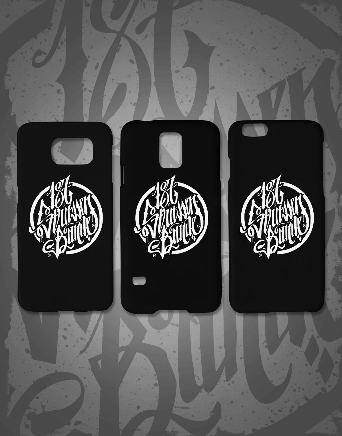 19665df04a5 187 Strassenbande Phone Case Schwarz   Weiss Accessories in 2019 ...