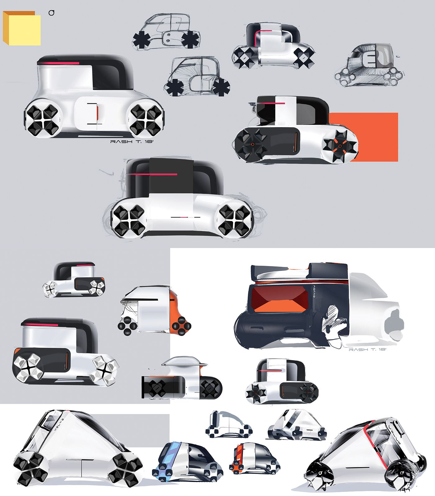 Volvo Pv Master Thesis On Behance Concept Car Design Automotive Design Transportation Design