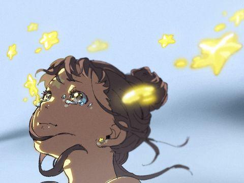 涙ディライトよねのイラスト Pixiv 泣き顔 涙 イラスト