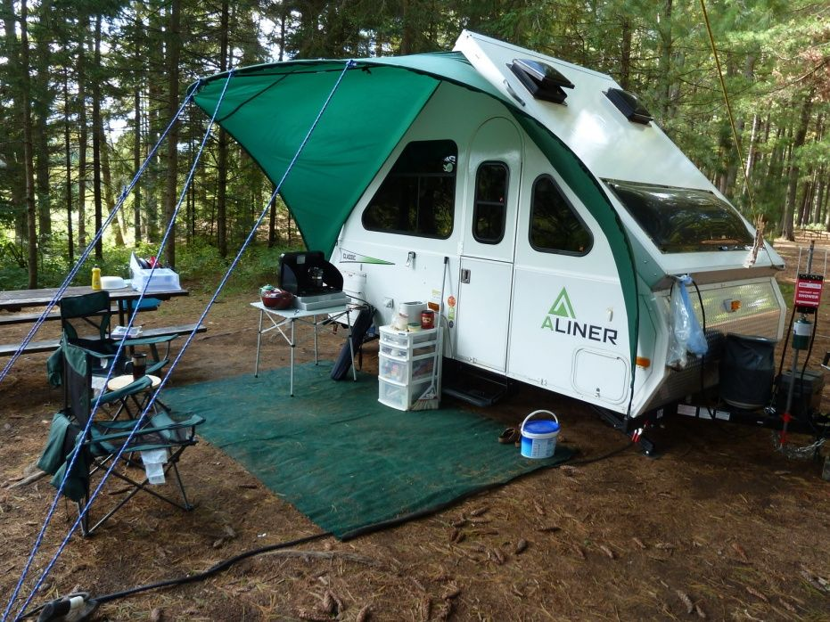 Awning Picture 1 Aliner Campers Vintage Travel