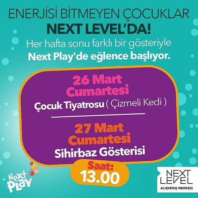 Enerji bitmeyen çocuklar bu hafta sonu da Next Play'de buluşuyor!