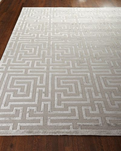 -61F5 Exquisite Rugs  Silver Trellis Rug, 12' x 15' Silver Trellis Rug, 10' x 14' Silver Trellis Rug, 9' x 12'