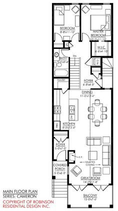 Картинки по запросу 2 storey narrow house plans | house plans