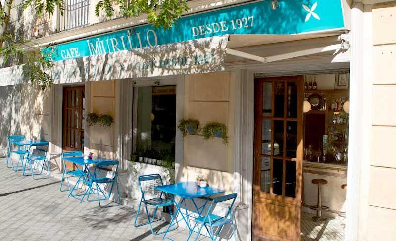 Murillo caf restaurante bistr en madrid junto al museo for Restaurante calle prado 15 madrid