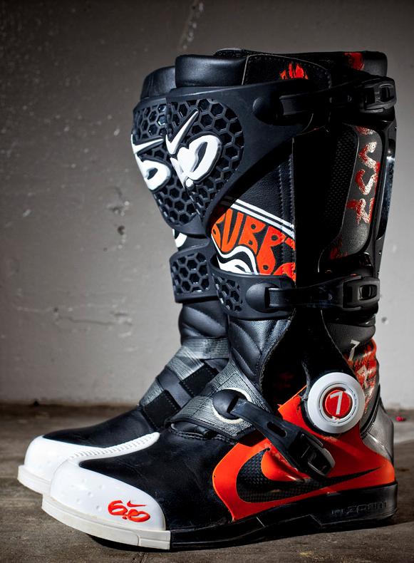James Stewart , nikeboot MotoX Bubba Nike · Bottes MotocrossVêtements