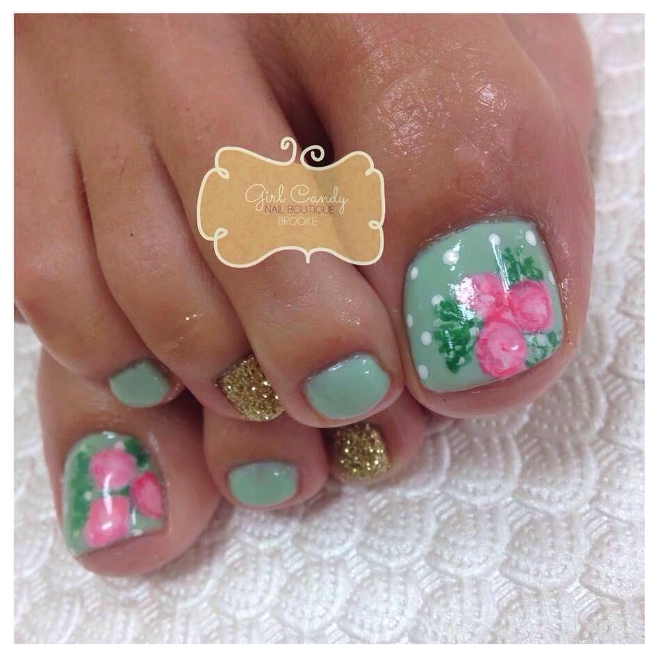 56 Adorable Toe Nail Designs For Summer 2017 | Toe nail designs, Art ...