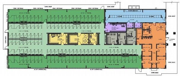 Dog Boarding Kennel Plans In 2020 Dog Boarding Kennels Dog