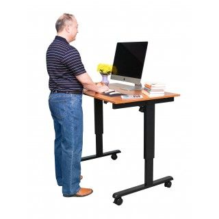 Swell Crank Adjustable Height Standing Desk Stuff Electric Download Free Architecture Designs Grimeyleaguecom
