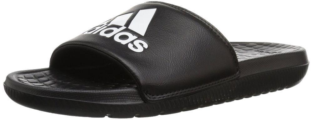 best cheap a844d 69687 adidas Mens Voloomix Slide Sandal BlackWhiteBlack 9 M US fashion  clothing shoes accessories mensshoes sandals ad (ebay link)