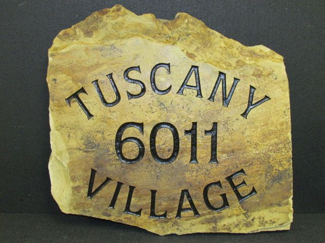 Address Marker Gallery - Custom Engraved Stone and Rock - Next In Stone