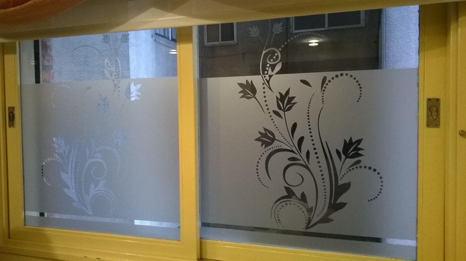 Vinilo esmerilado para ventanas y vidrieras - Vinilos para ventanas ...