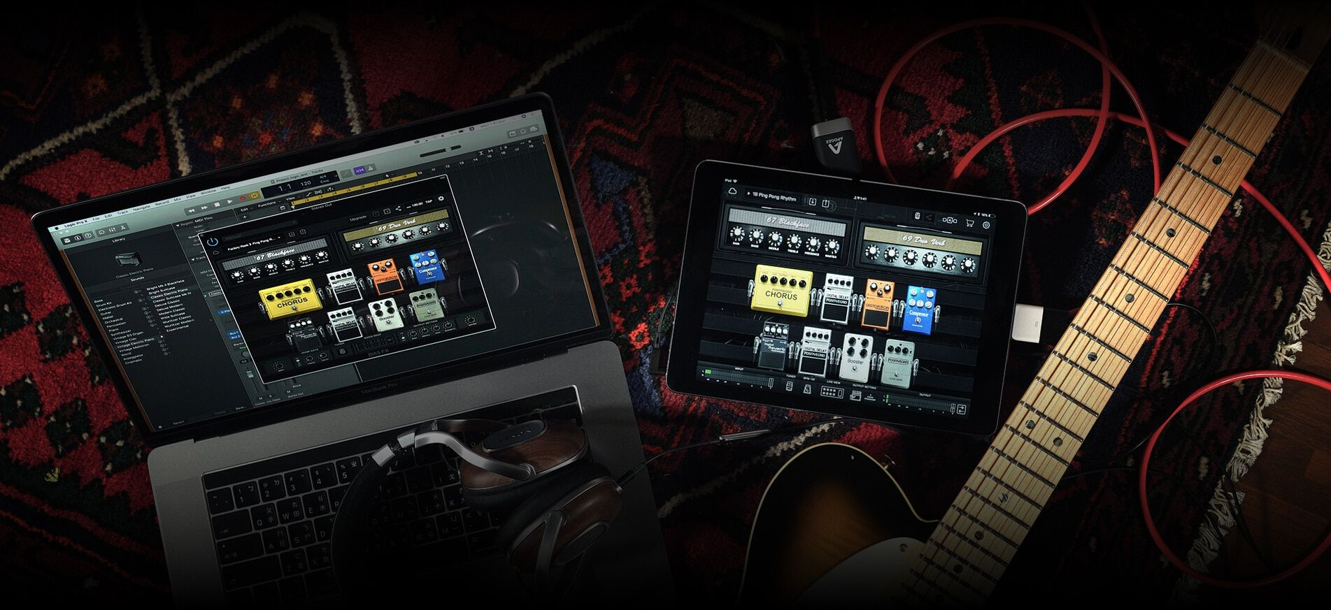 Guitar Effects Processor And Software Bias Fx Guitar Effects Analog Car Radio