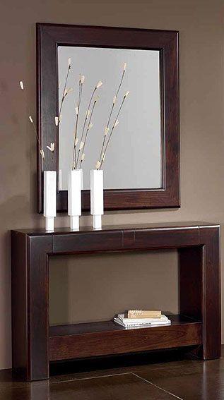 Consola mueble  Diseos  Muebles de entrada Decoracin