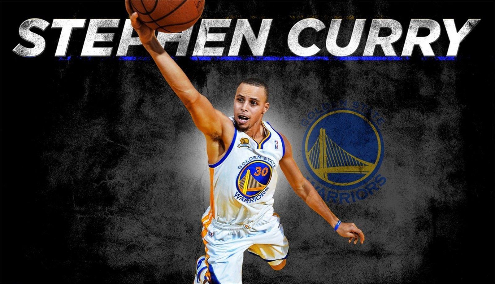 Stephen Curry  Warriors Basketball MVP Silk Poster 13x20 24x36inch Art Pint 009