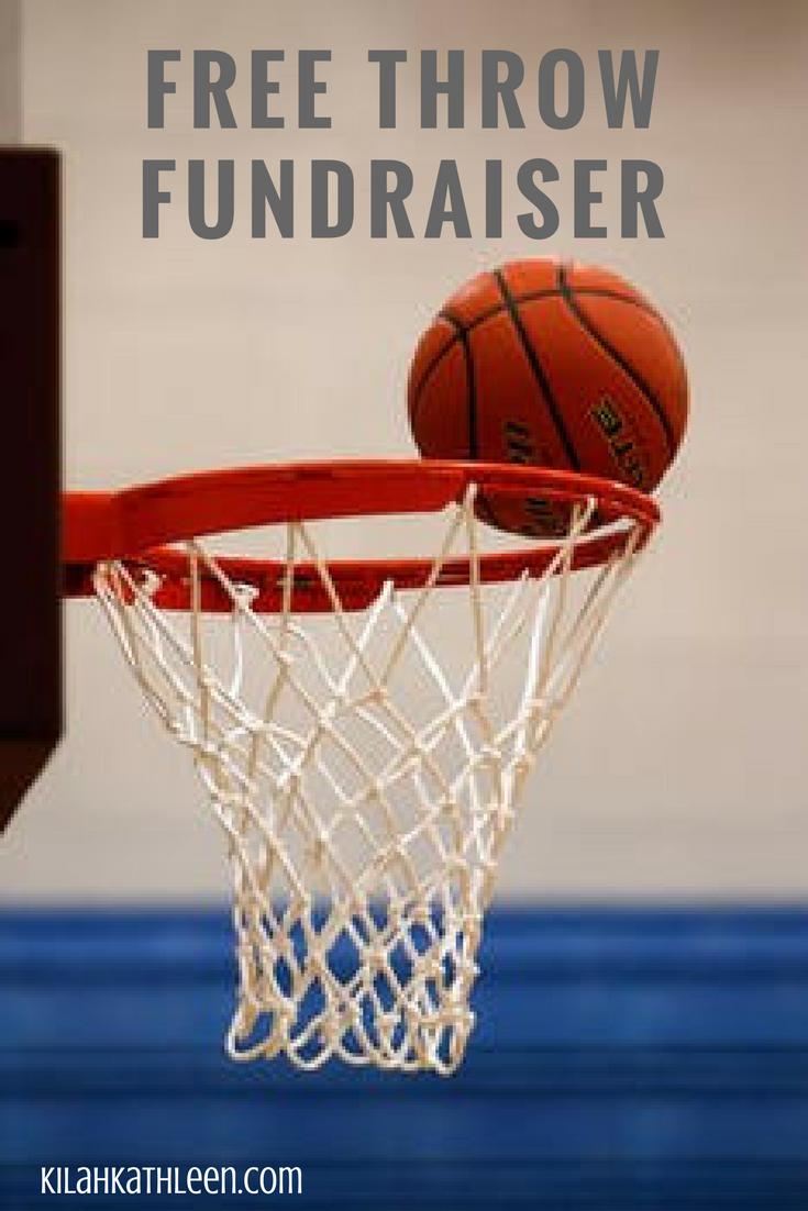 fundraising idea for youth basketball teams [free printable