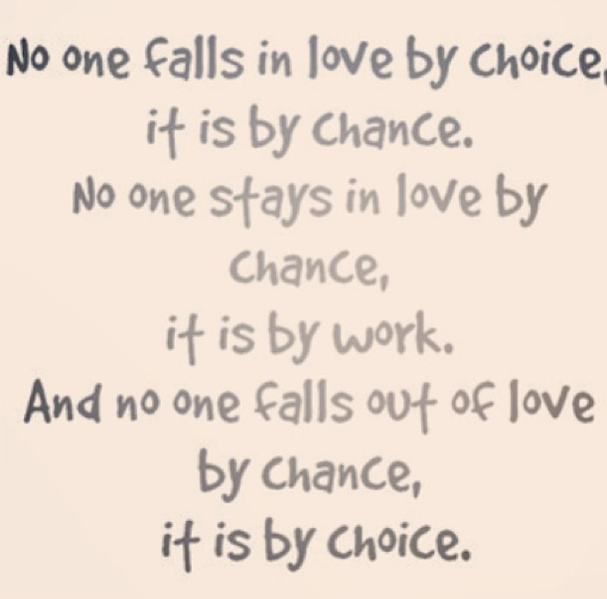 Love Choices Quotes No One Falls In Lovechoice Quote Quotes And Sayings Image