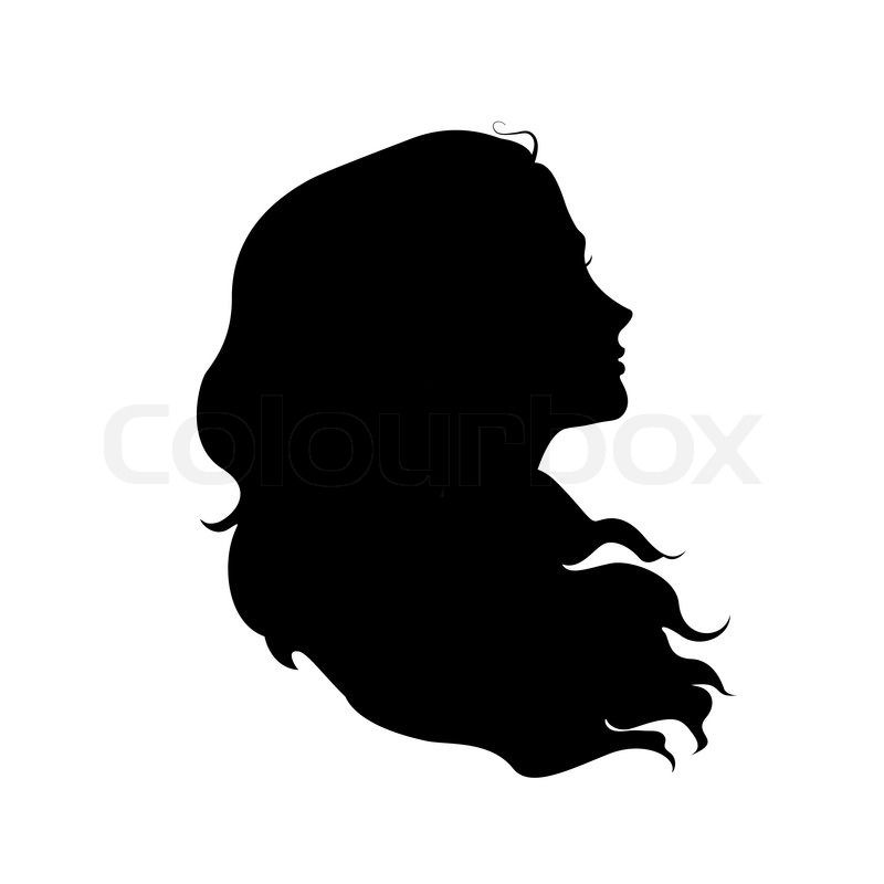 8a94609b5 woman face silhouette braid hair - Google Search | Tattoos- Haiti ...