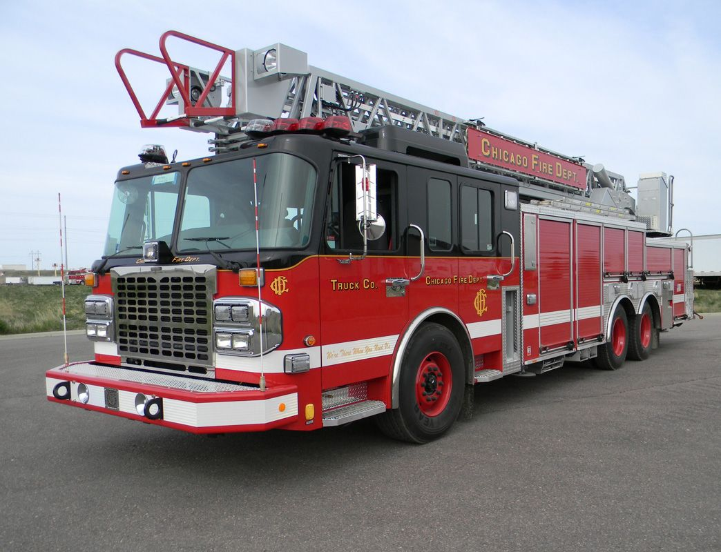 Chicago Fire Department Spartan Gladiator/Crimson 103