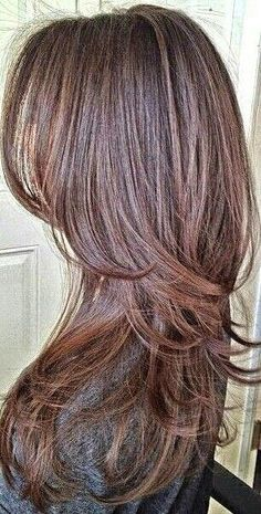 Long Hair With Short Layers Hairstyle