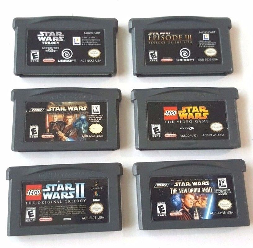 Star Wars Game Boy Advance Games