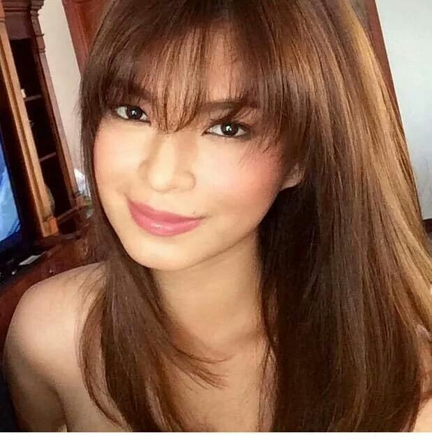Angel Locsin Filipina Beauty Angel Locsin About Hair