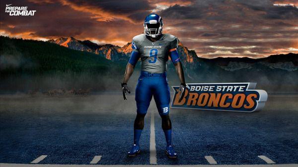 Nike Football Pro Combat Uniforms By Richard Boadu Via Behance Boise State Broncos Football Boise State Broncos Boise State