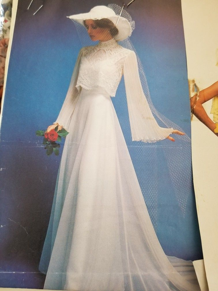 My 1979 wedding dress... (With images) Antique wedding