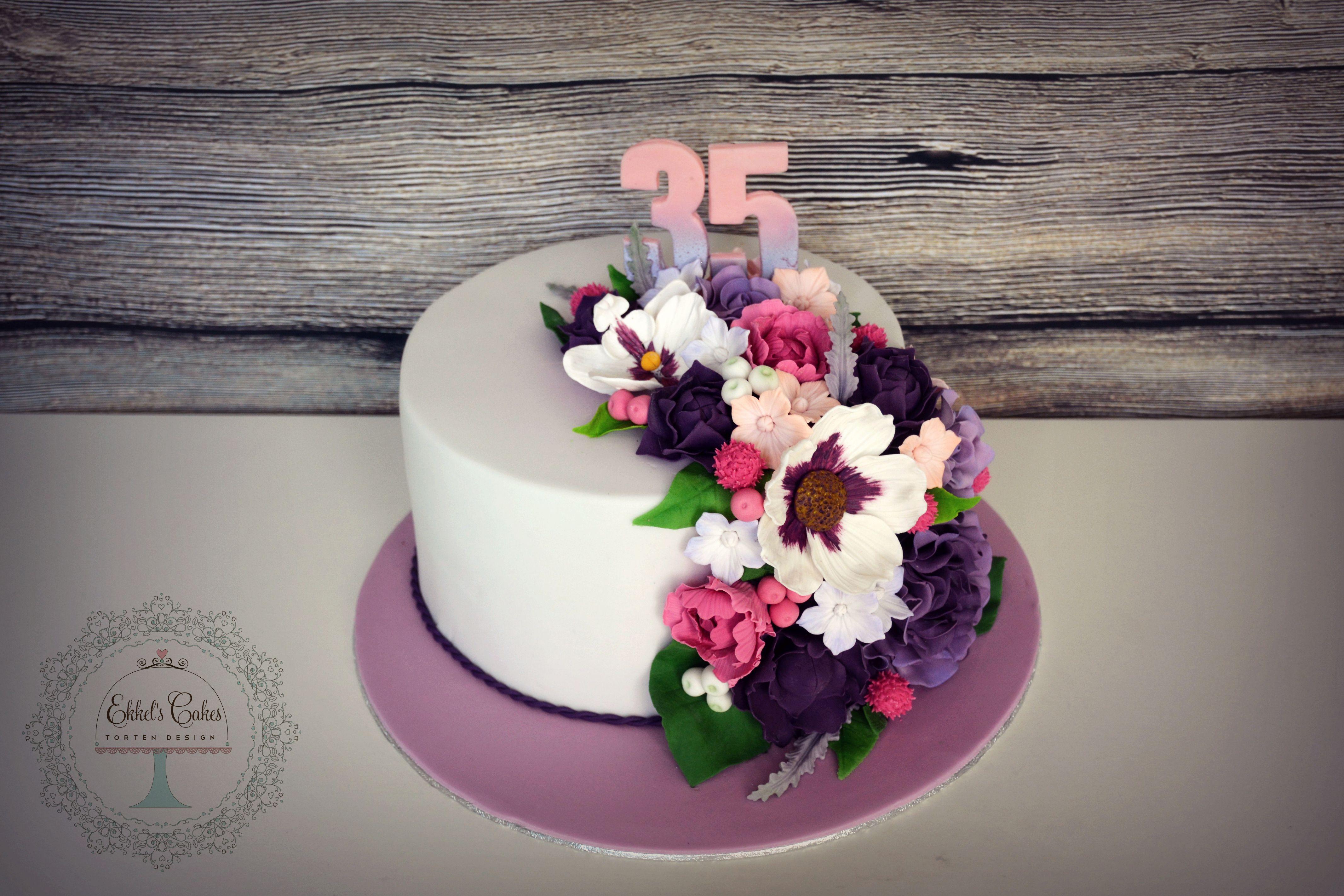 35thbirthday Geburtstag Birthday Woman Flower Blume Rose