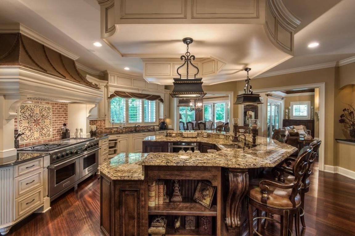 Sophistication meets rustic style in this gorgeous kitchen | 777 W Orange Road, Delaware, OH 43015