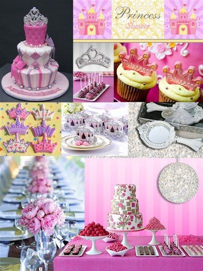 Baby Shower Ideas Princess Theme Princess Shower Baby Shower