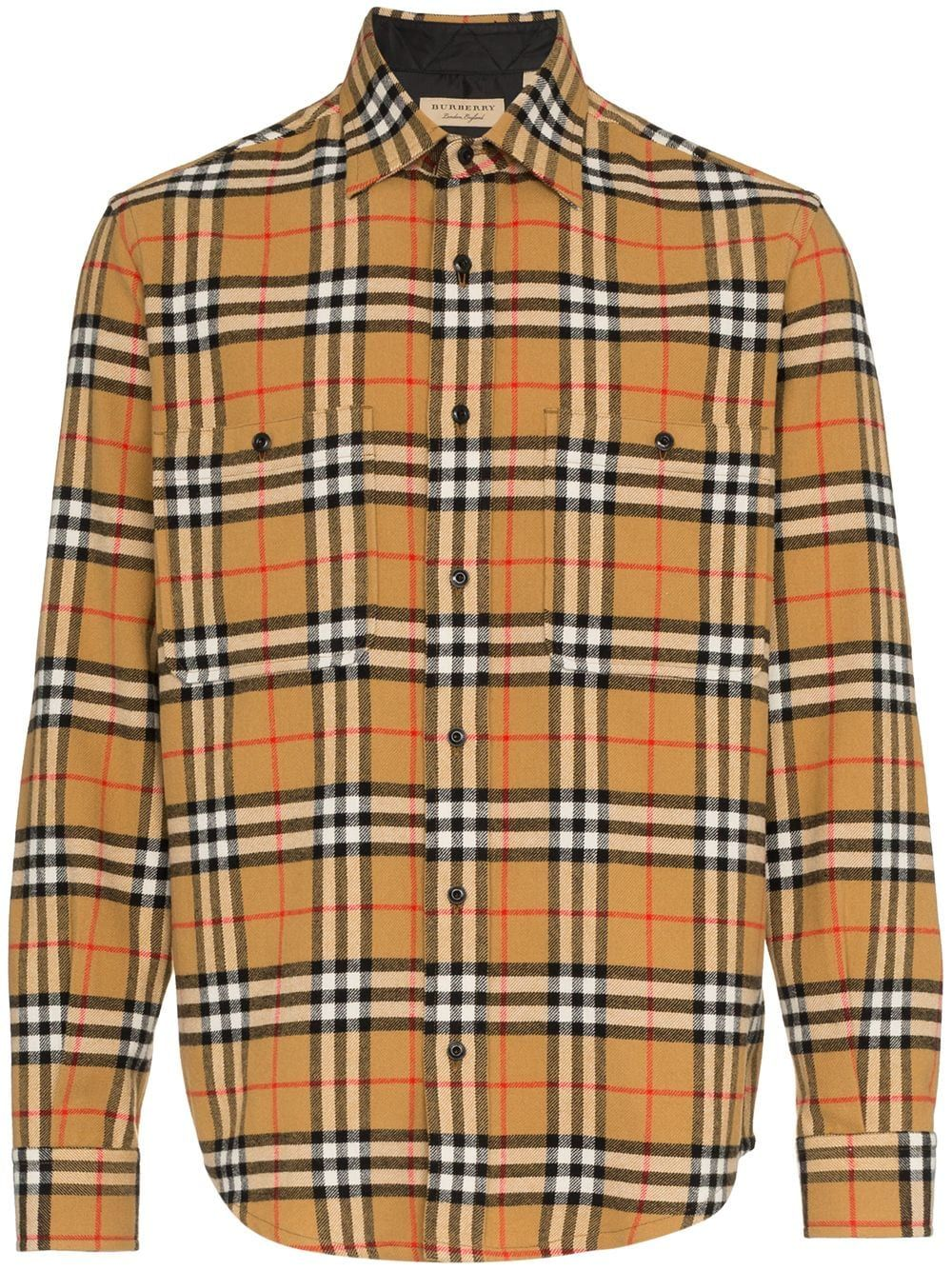 6f6aa8cb Burberry Flannel Vintage Checked Shirt | Shirts in 2019 | Flannel ...