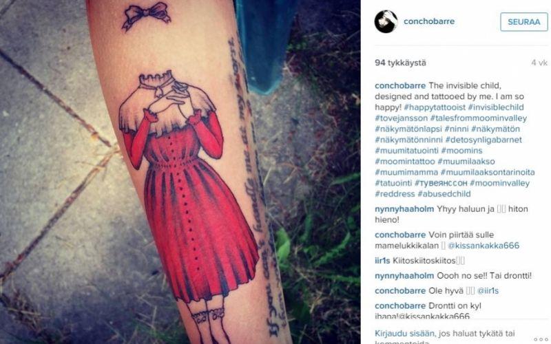 Näkymätön Ninni Tatuointi