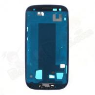 Carcasa Central + Marco Frontal Galaxy S3 i9300 Azul Swap