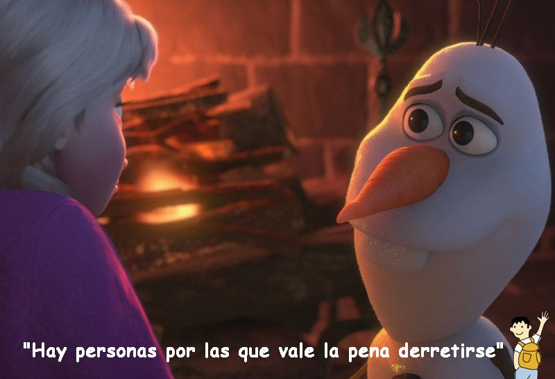 Frase Frozen Olaf Quotes Tumblr Image Olaf