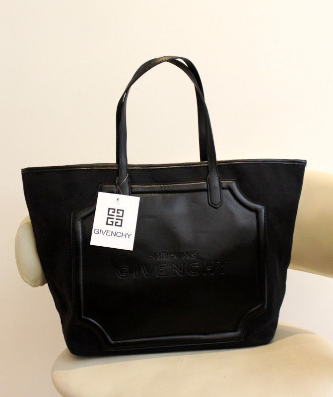 Givenchy Parfums black tote  70aefd4578ec3