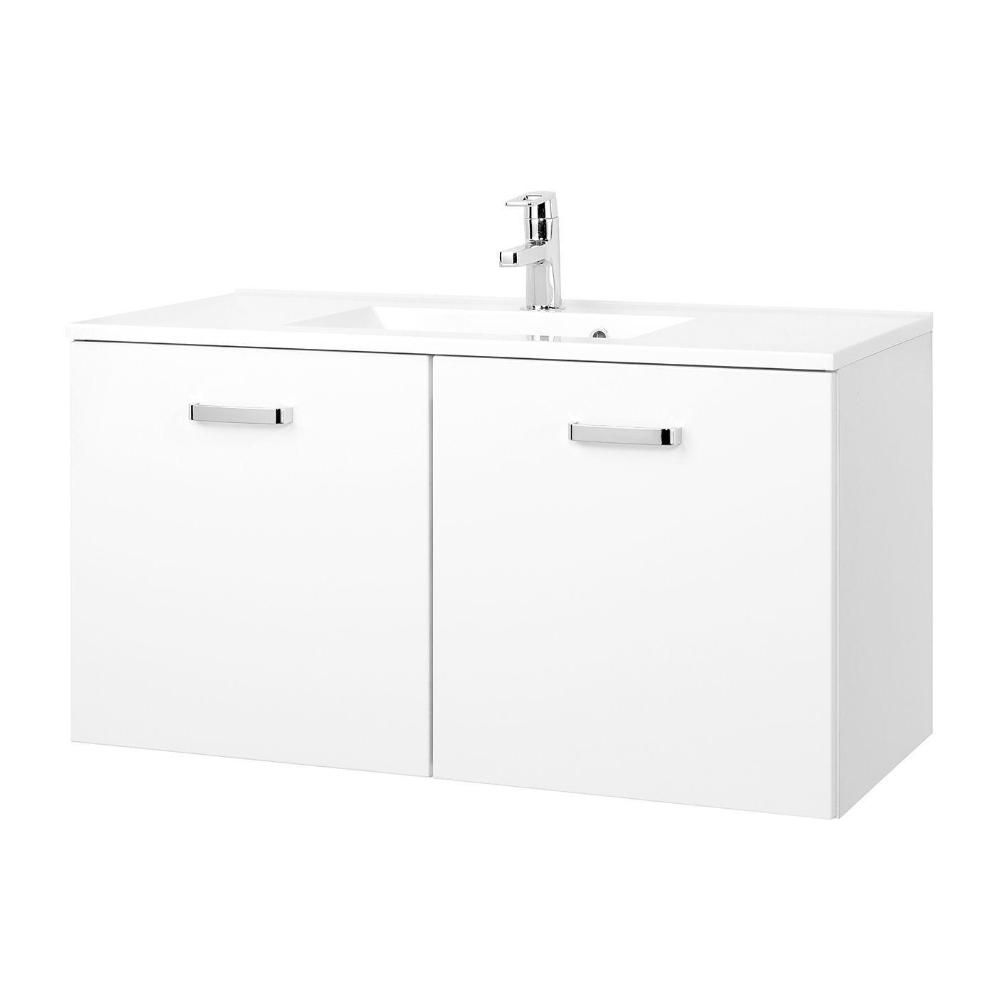 Waschtisch Zeehan - Weiß - 100 cm, Giessbach Jetzt bestellen unter ...