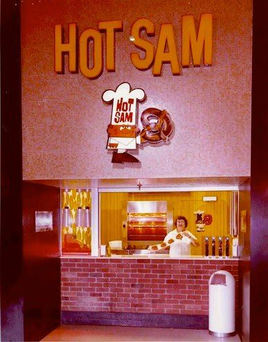 Vintage Hot Stuff Pizza Flag from 1980/'s