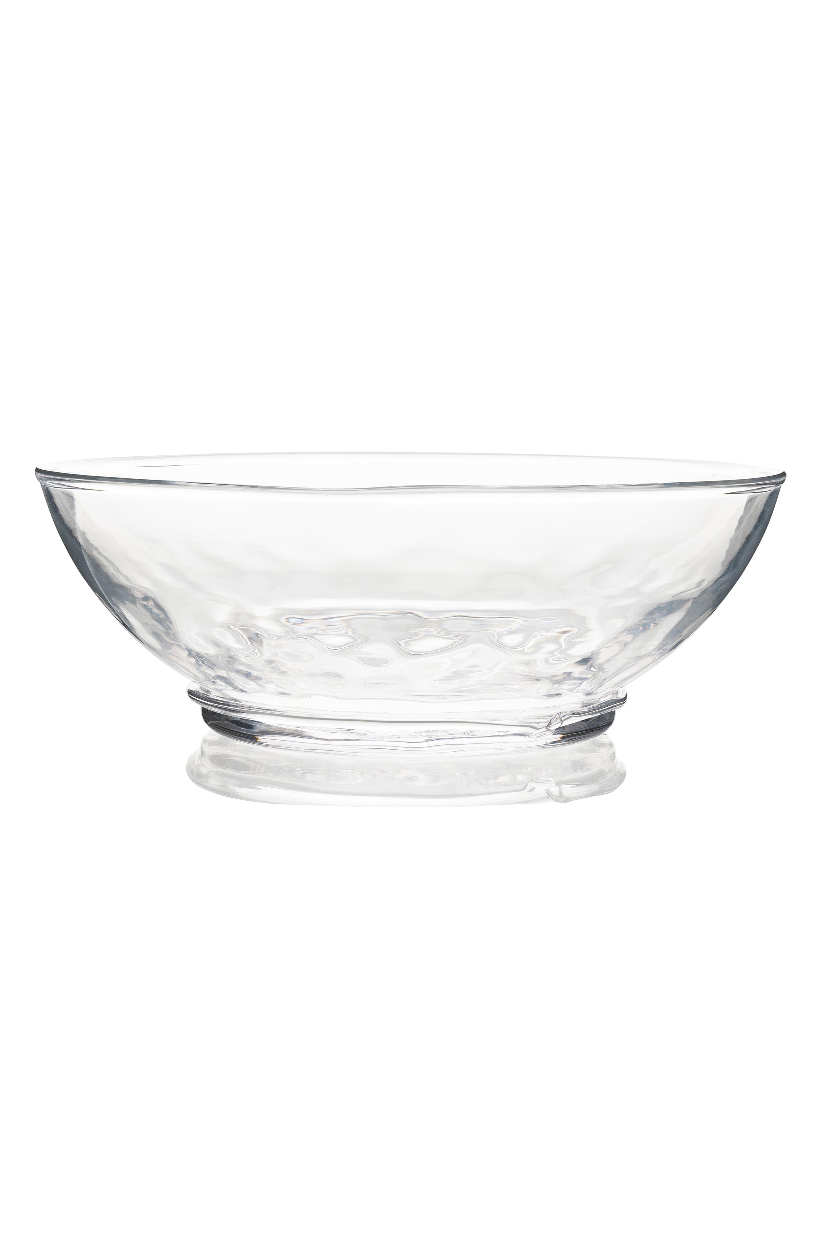 Juliska Carine 10 Inch Serving Bowl Size One Size White Glass Serving Bowls Serving Bowls Decorative Bowls