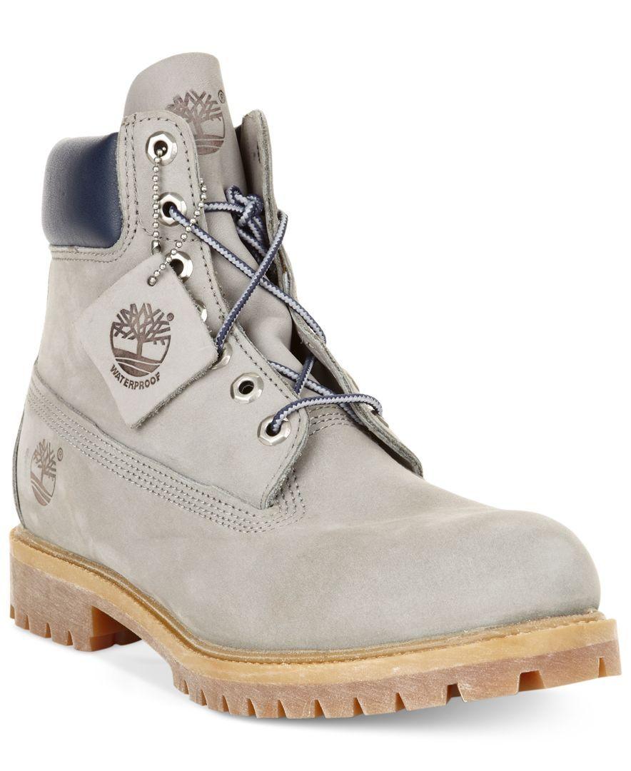 """Timberland Men's 6"""" Premium Waterproof Boots"""
