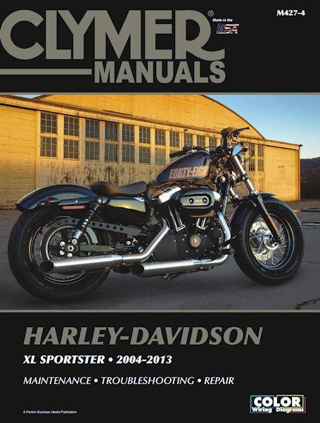 The Harley Davidson Sportster Xl883 Xl1200 Repair Manual 2004 2013 Diy Manual Sportster Harley Davidson Sportster Harley Davidson