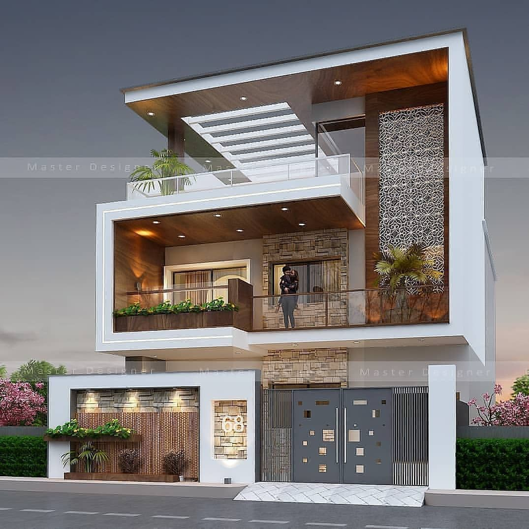 Latest Modern Houses Exterior Design Ideas In 2020 Modern Exterior House Designs Bungalow House Design 3 Storey House Design