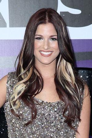 Cassadee Pope Purple Hair