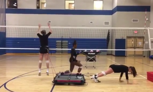 Vertimax Volleyball Training With The V8 Platform And Loudoun Elite Volleyball Team Volleyball Team Volleyball Imax