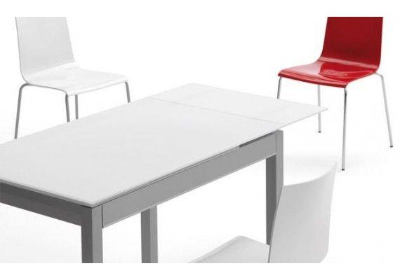 Mesa cocina Claudia extensible y con cajón | mesa de cocina ...