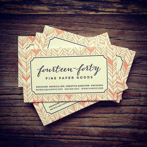 Fall pratt house wedding letterpresses business cards and business 1440 business cards colourmoves