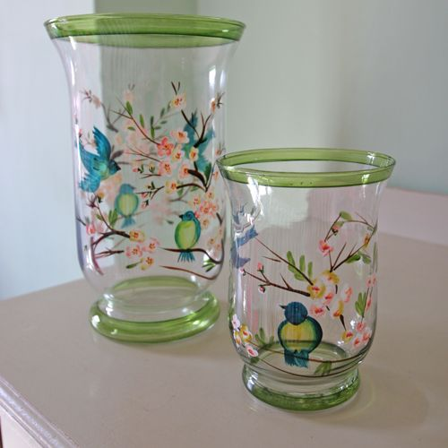 Hand Painted Vases Google Search Painted Vases Pinterest