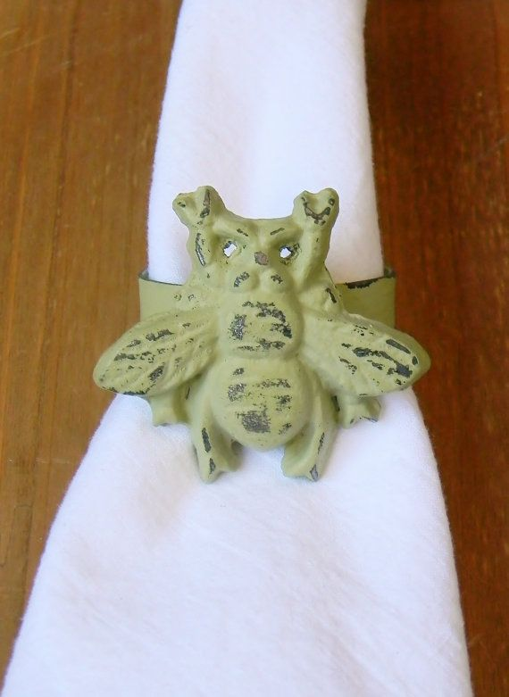 Napkin Rings Napkin Ring Holders Casual by ColorfulCastAndCrew